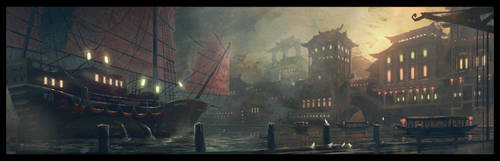chinese shore by lordbiernac