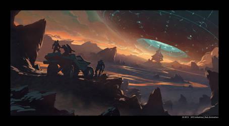 Halo 4 Spartan Ops motion comics