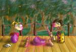 Rayman and Tarayzan