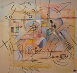 Abstract gouache