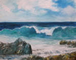 Seascape wave