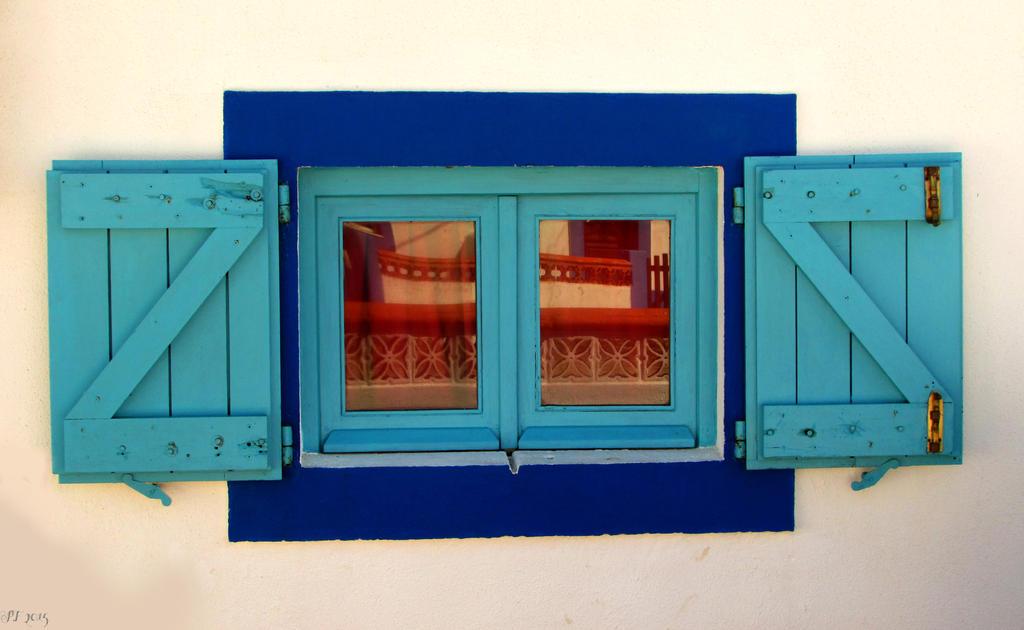 Blue Window by Boias