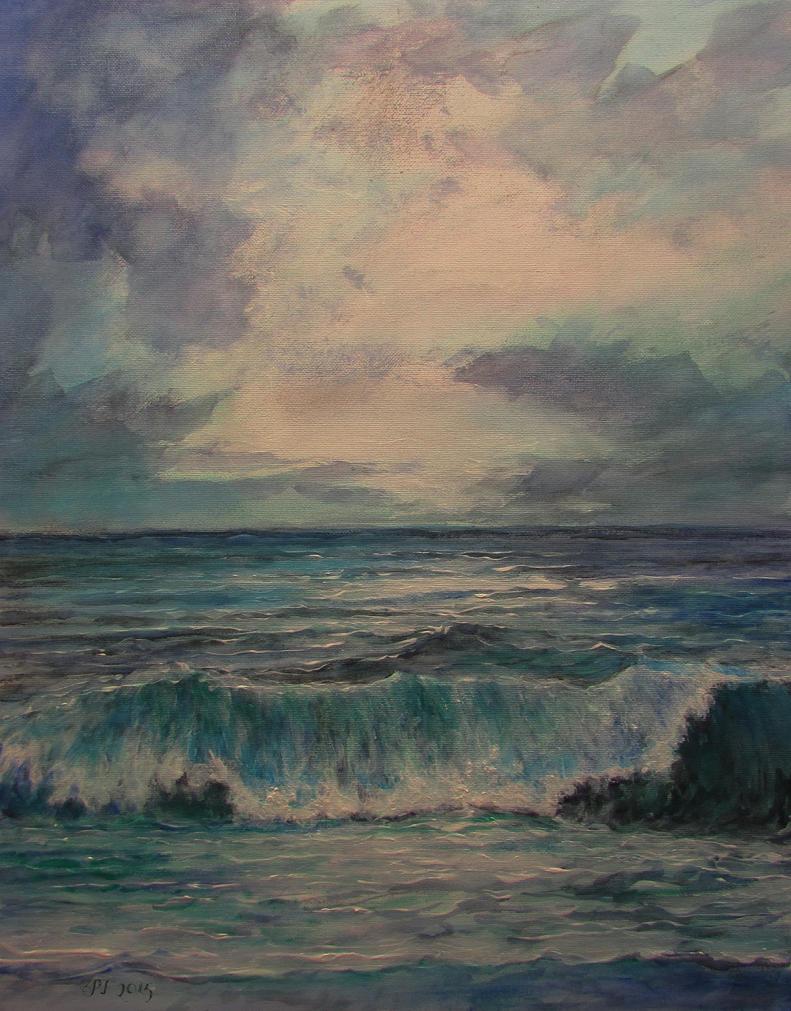 Ocean wave by Boias