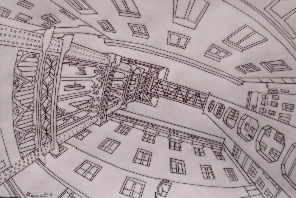Lisbon urban lift by Boias
