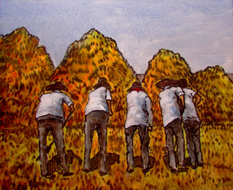 Rural scene by Boias