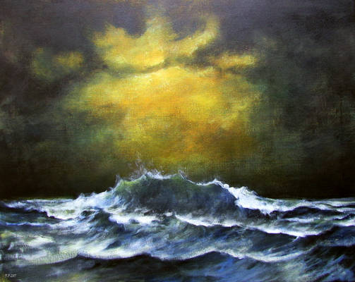 Gloomy seascape (updated)