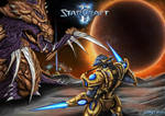 Starcraft 2 Zerg vs protoss