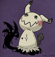 Mimikyu, the Pikachu Imposter by TerriblyJadedGamer