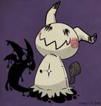 Mimikyu, the Pikachu Imposter