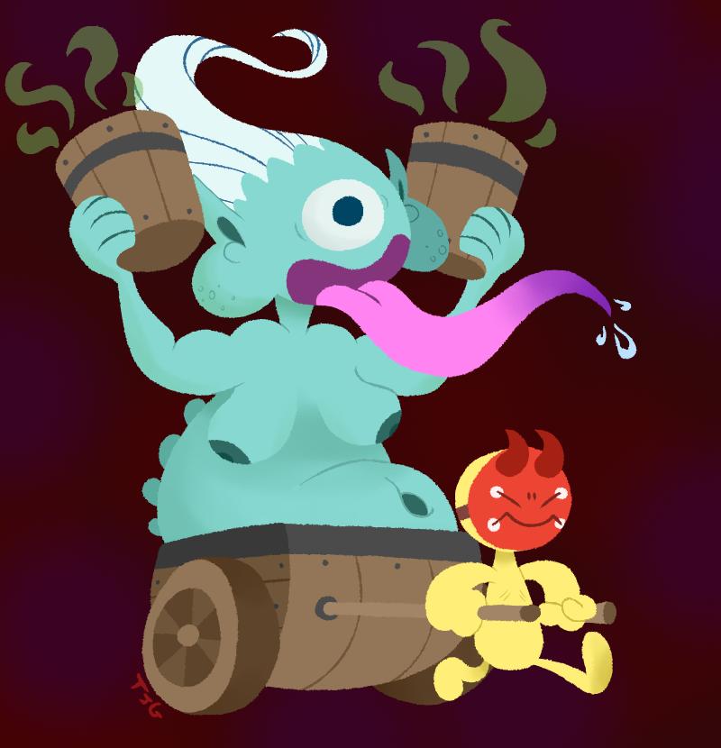 Demonlord Belphegor by TerriblyJadedGamer