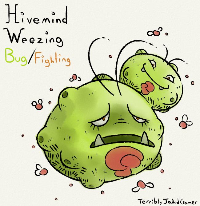 Hivemind Weezing by TerriblyJadedGamer