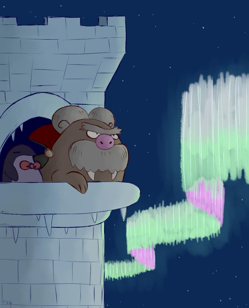 The Igloo Tower by TerriblyJadedGamer