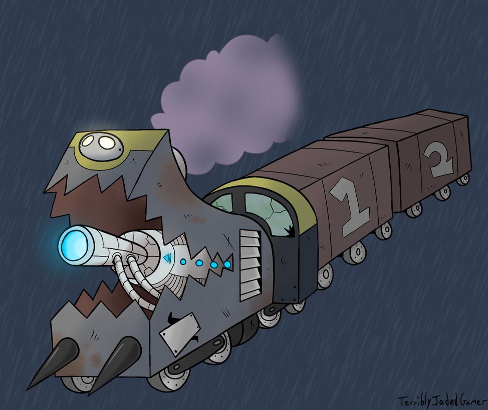 Dream Demons - Blasteroid Train by TerriblyJadedGamer