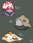 Peculiar Pokemon (Retypes)
