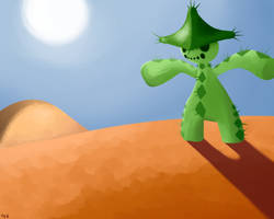 The Scarecrow Pokemon by TerriblyJadedGamer