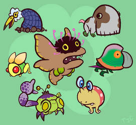 Pikmin Critters