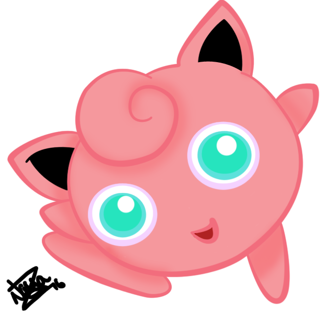 0039 Jigglypuff by Dragon-Master-Naya