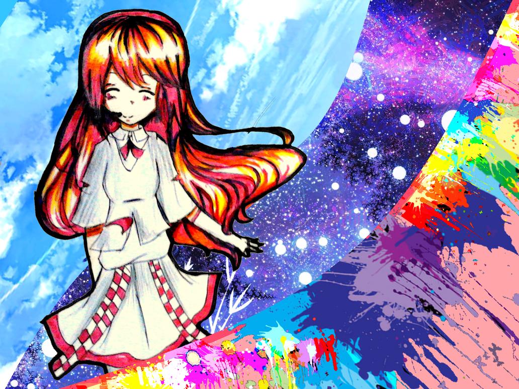 Wonderful world~! by AiHamoniHinaji