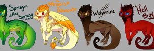 Pseudo Adoptables :: Closed :: Paypal by Ryrtia