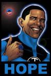 Blue Lantern Obama by ObamaLantern