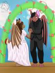 Bat wedding (Commission)