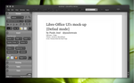 LibreOffice UI Mock-up dark 1
