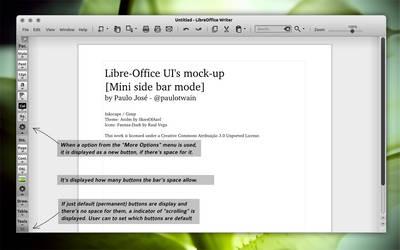 LibreOffice UI Mock-up light 2