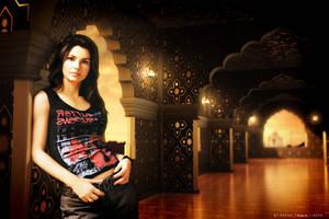 Shania Twain at Agra by pauloup