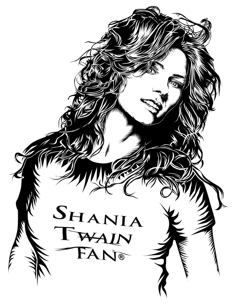 Shania Twain - vector 2010 by pauloup