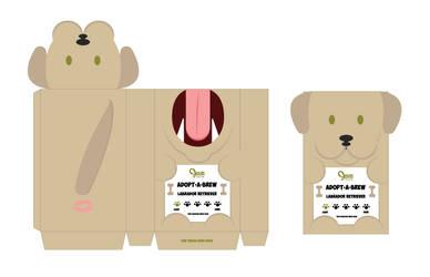 Coffee Bag Project- Dog - Labrador Retreiver