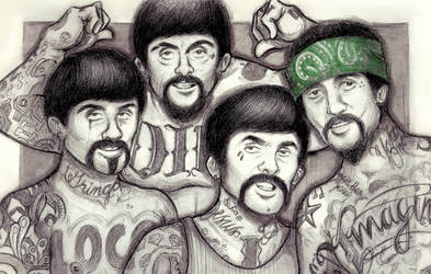 Juan, Pablo, Jorge, and Gringo by OriginalNick