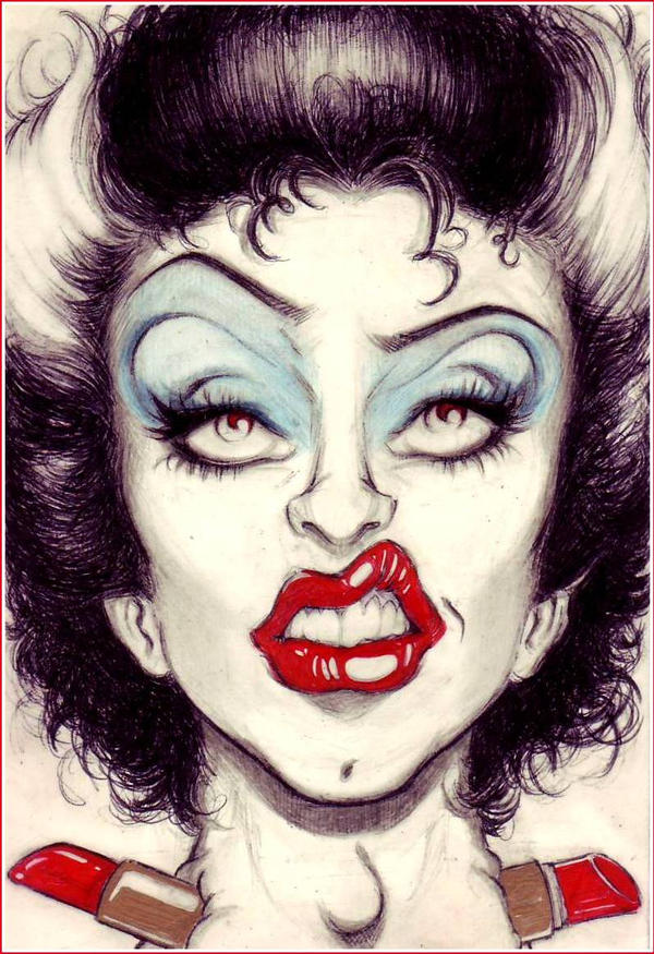 Bride of Frank N Furter by OriginalNick