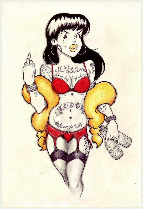 TLDOR: Veronica Lodge, All-American Chola by OriginalNick