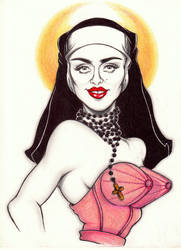 The Madonna by OriginalNick
