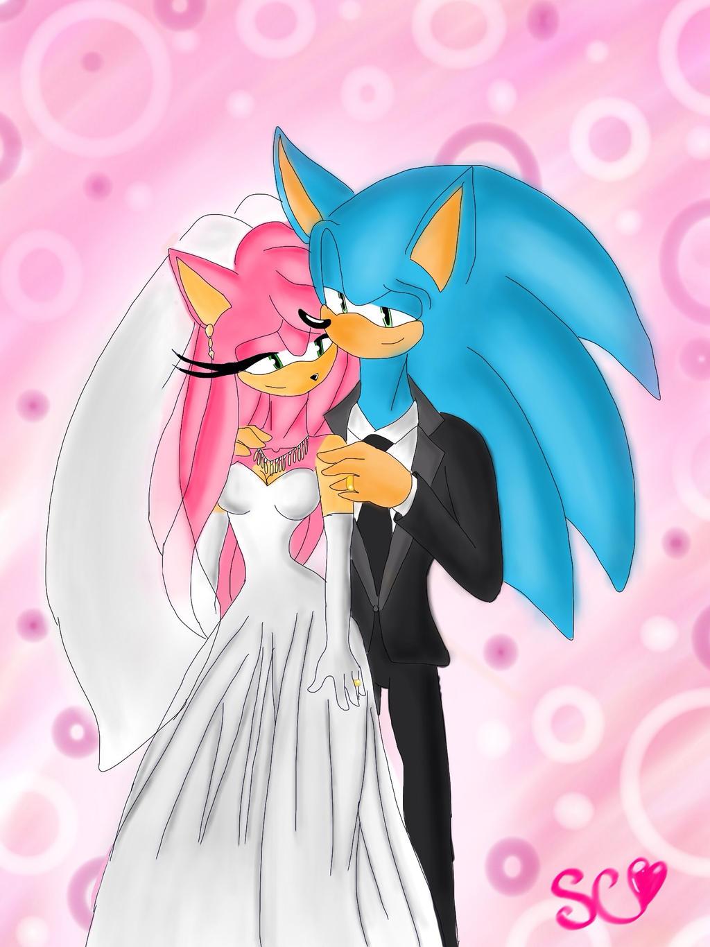 request sonamy wedding by sonamycomic on deviantart