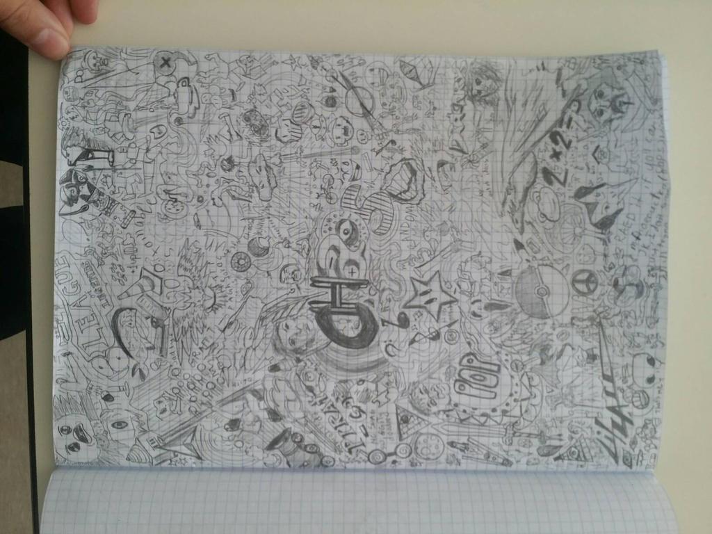 Doodley Doodle by litzard