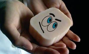 Quizzical soap by Rakkety