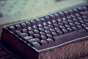 Keyboard Cake by KLutskaya