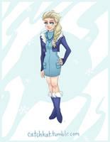 Modern Elsa by ParadoxParade