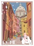 Rome travel Poster (Day Version)