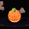 Horrible Horrible Pumpkin by 9Skulls