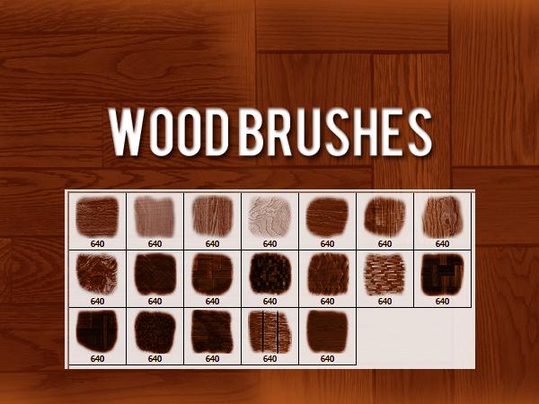 Wood Brushes by xara24