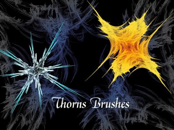 Thorns Brushes by xara24