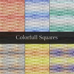 Colorful Squares Patterns