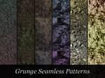 Dark Grungy Patterns