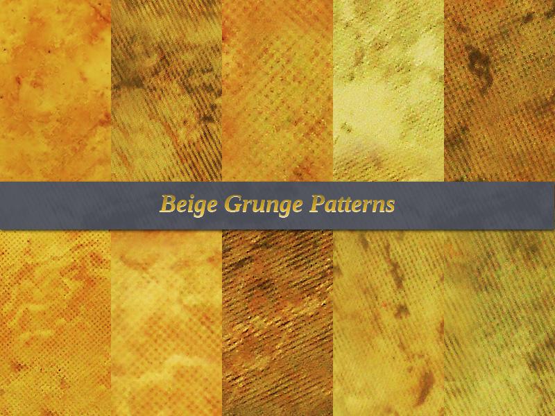 Beige Grunge Free Patterns by xara24