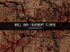 Walls and Pavement Grunge Brushes by xara24