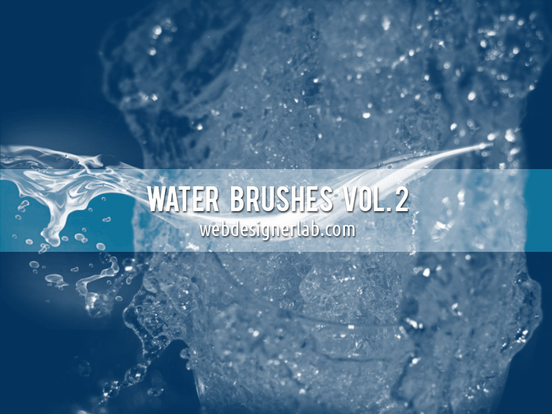 Water splash brushes for photoshop cs3 free download