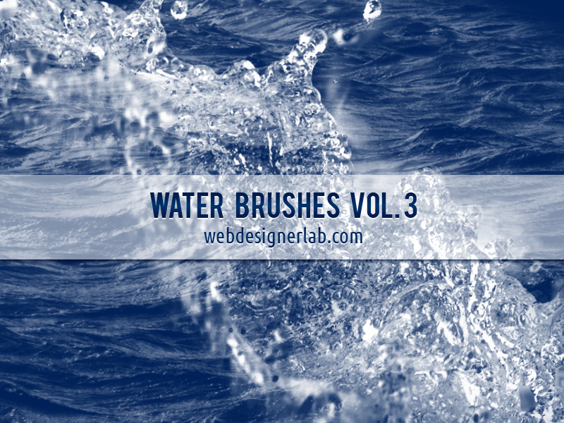 Water Brushes Vol. 3