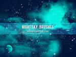 Night Sky Free Brushes